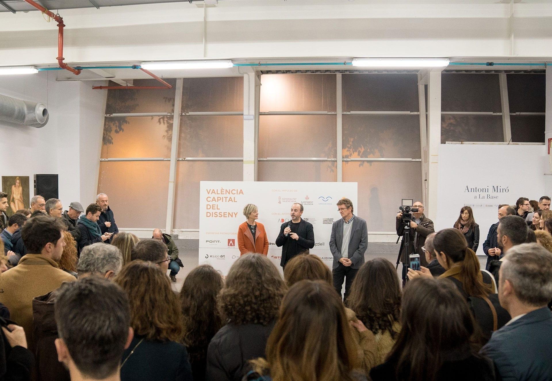 Presentación de la candidatura de València para ser Capital Mundial del Diseño