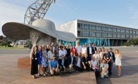 <p>Visita oficial del jurat de la <em>World Design Organization</em> a València.</p>