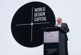 <p>Viatge a l'Índia a la <em>World Design Assembly</em> per recollir el testimoni de Capital Mundial del Disseny en 2022.</p>