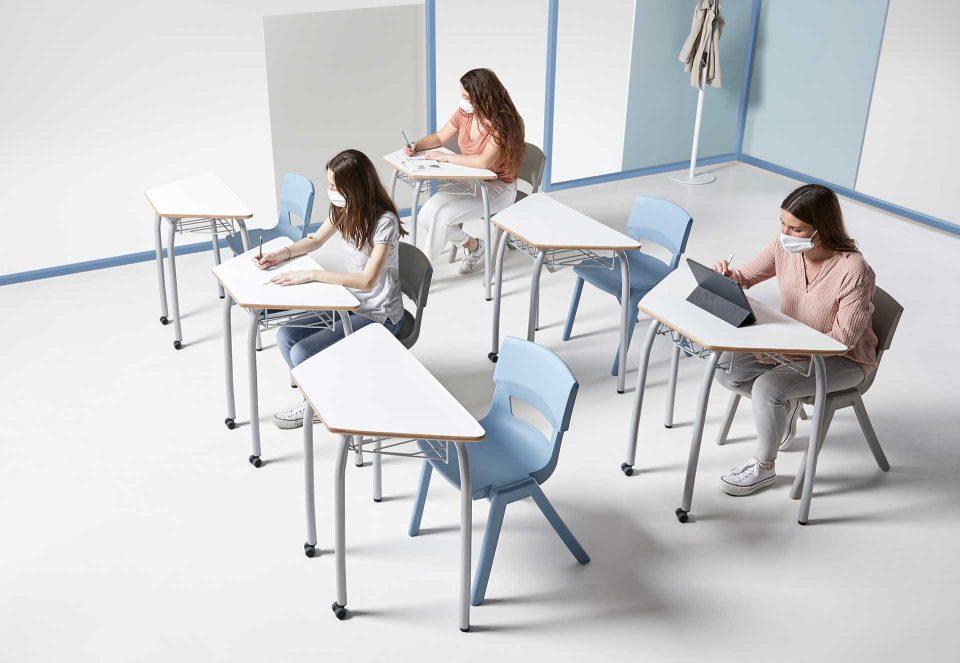 Retorn al futur: com el disseny valencià crea hui les aules de demà