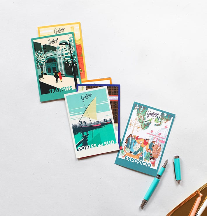 'Greetings from…' — Connecting our neighborhoods with postcards