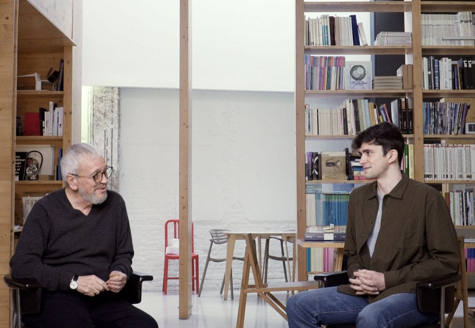 'Masters & Beginners', a series of dialogues between different generations of the design field