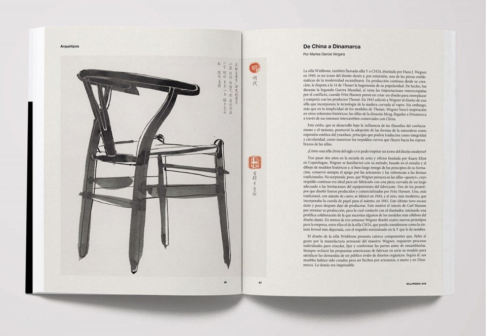 CONFERENCE. 'Sillipedia, 101 stories of the chair' by Andreu World (at Madrid Design Festival)