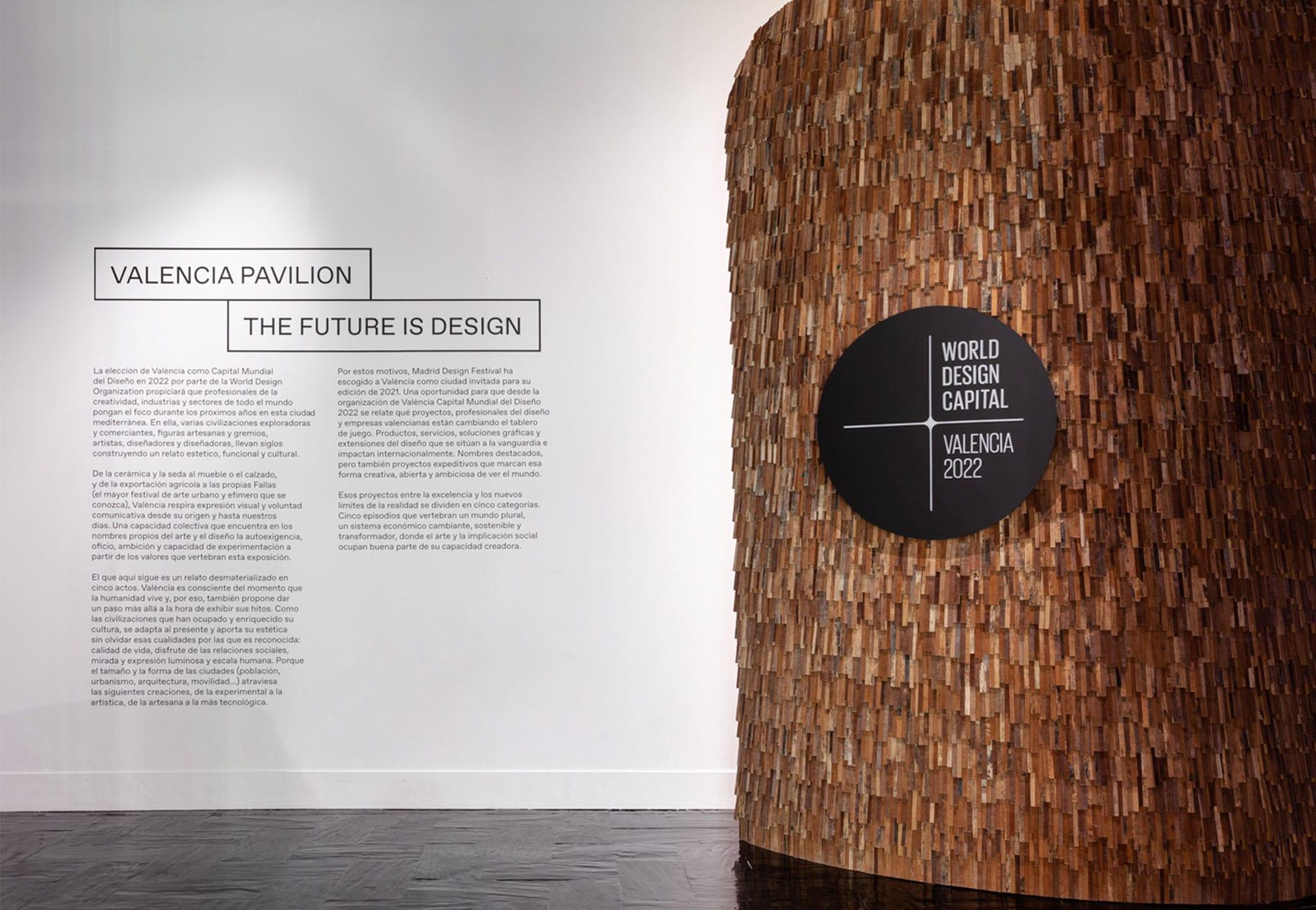 «Valencia Pavilion. The Future is Design» Exhibition