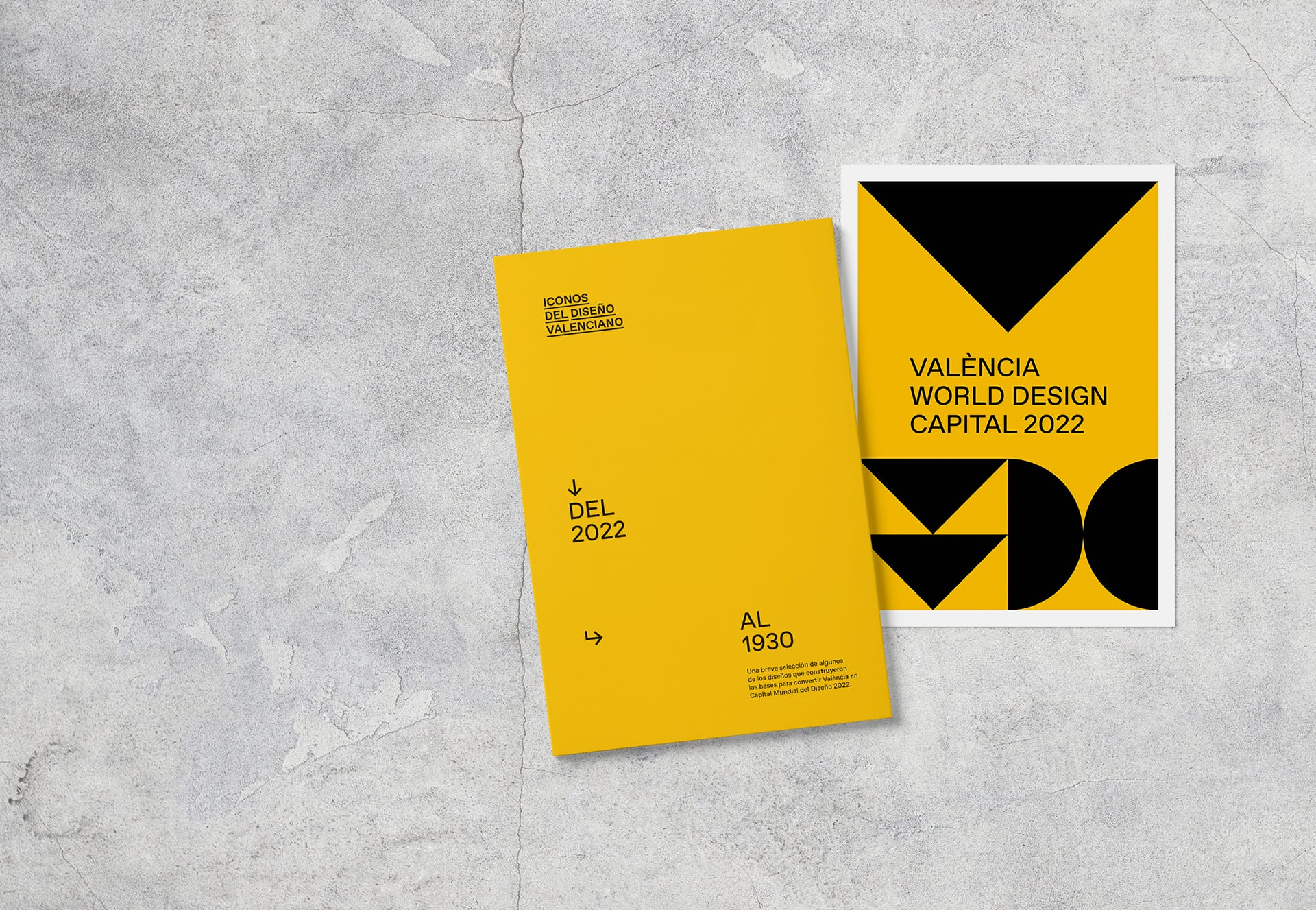 """Collection """"Icons of Valencian design. From 1930 to 2022"""""""