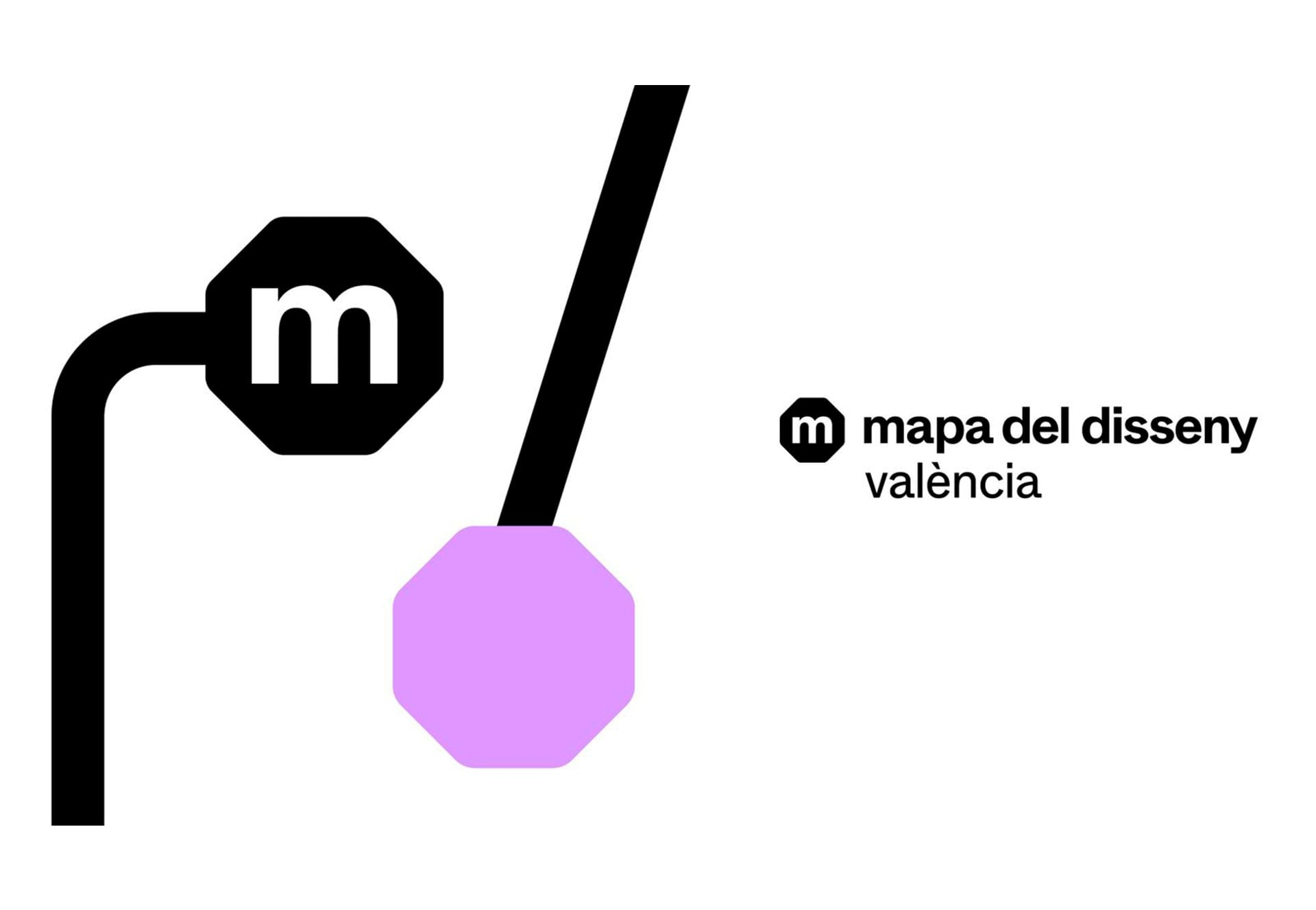 """""""Mapa del Disseny"""", locations in the city of Valencia recognised for their design"""