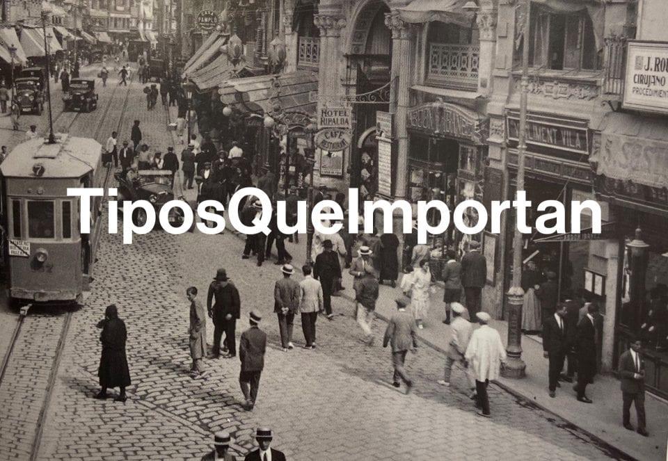 TiposQueImportan, a project to protect and disseminate urban graphic heritage