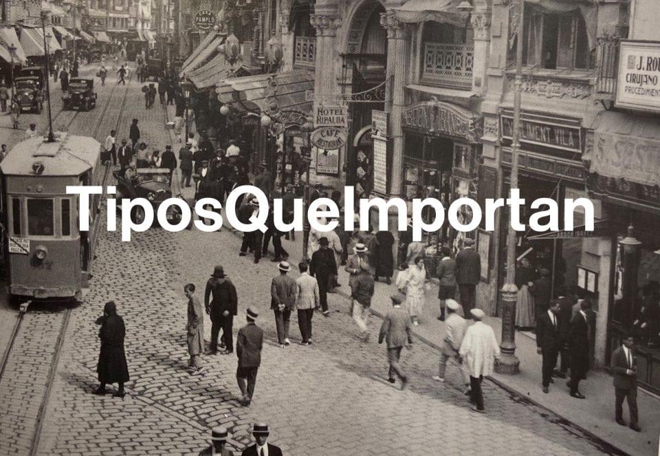 TiposQueImportan, un projecte per a protegir i difondre el patrimoni gràfic urbà.