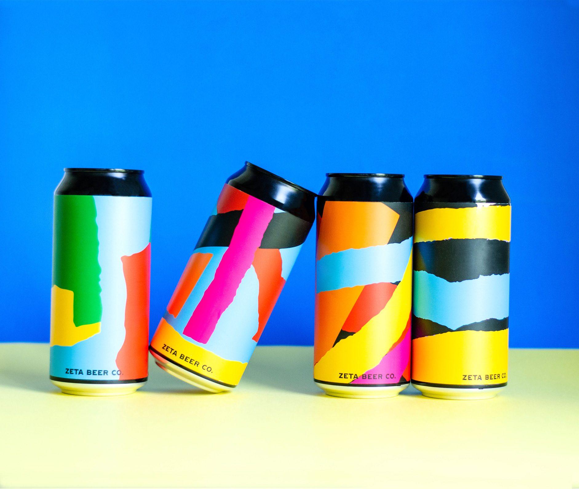ZETA Beer, rediseño de sus etiquetas ilustradas desde Trampolín