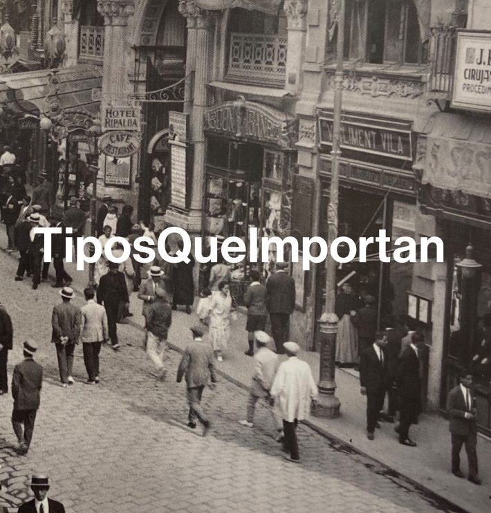 TiposQueImportan, un proyecto para proteger y difundir el patrimonio gráfico urbano