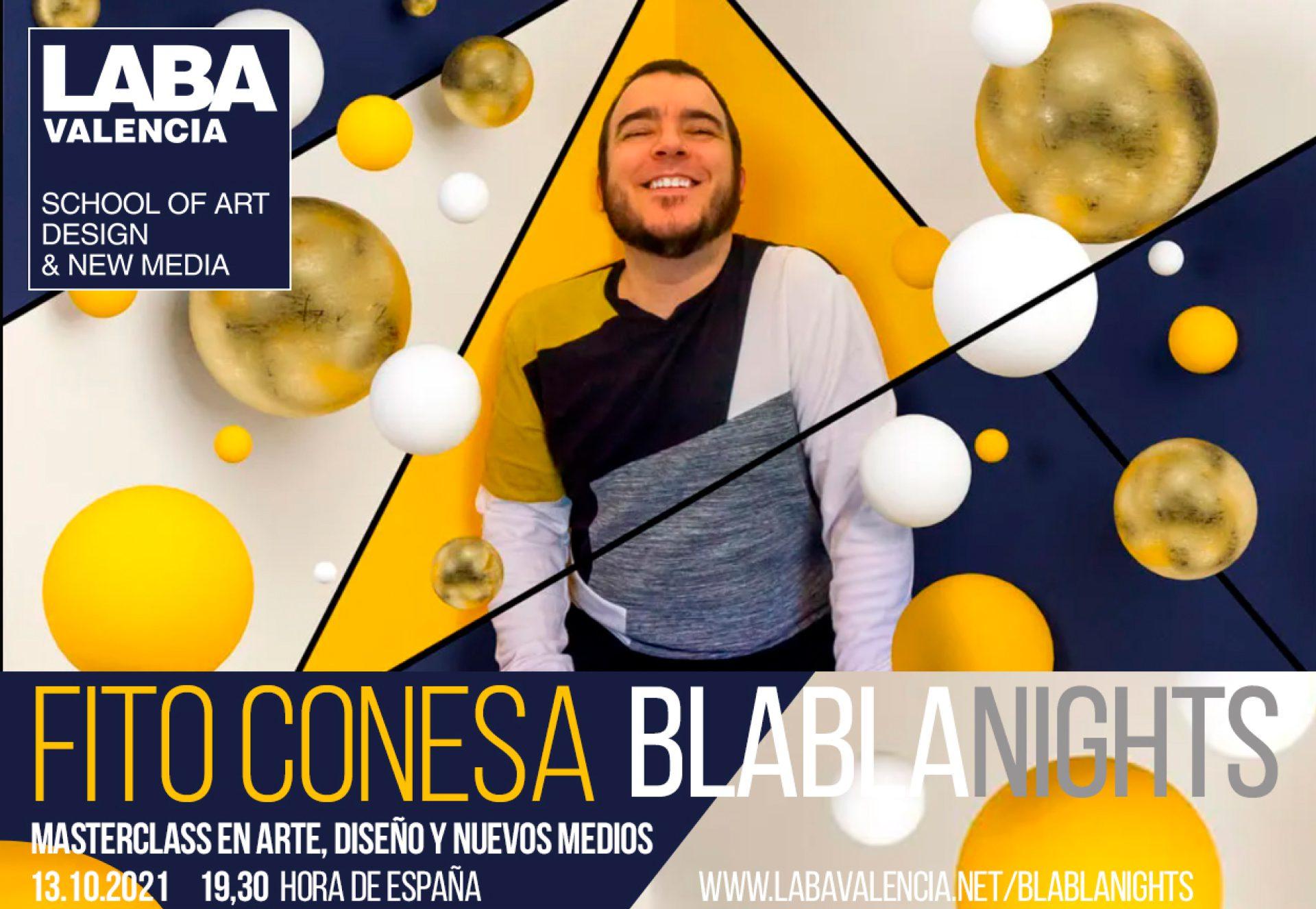 MASTERCLASS. BlablaNights con Fito Conesa
